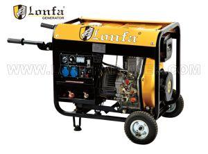 5kVA open Diesel van het Type Generator met Handvat en Wielen