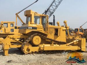 Trattore a cingoli originale D7r della macchina della costruzione del Giappone di buona qualità 25 tonnellate di bulldozer del cingolo da vendere