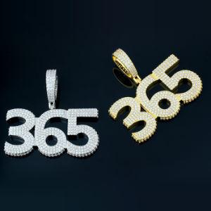I monili all'ingrosso di Hip Hop progettano il pendente per il cliente iniziale della lettera della bolla dell'argento sterlina del CEO 925 della CZ del diamante