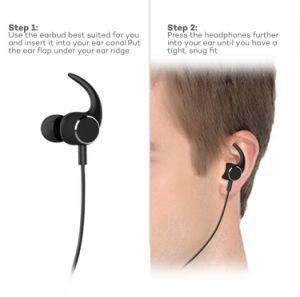 Nuovo trasduttore auricolare di Bluetooth del metallo della cuffia avricolare di Earbuds Bluetooth della fabbrica di stile