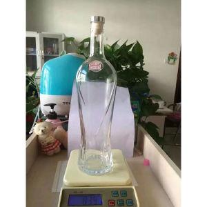 Bottiglia senza piombo all'ingrosso di Tequila della radura 750ml Reposado di cristallo