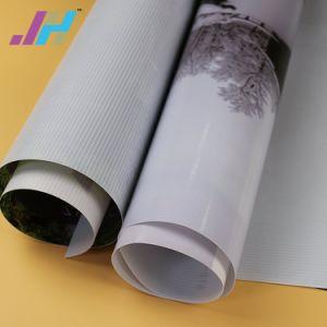440gsm (13oz) Glossy/ Matte Scrim laminado a quente / frio / Banner flexíveis de PVC com iluminação traseira