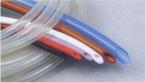 Tubi di gomma sporti del silicone