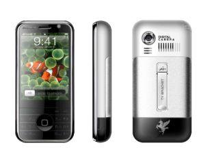 Две SIM-карты двойной режим ожидания телевизора мобильный телефон (I929)