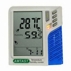 Temp. Monitor de Umidade e data loggers on-line