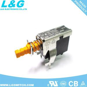 PCBはSpst押しロックスイッチをタイプする
