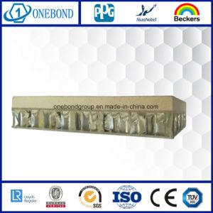 De bonne qualité Pierre léger en aluminium Panneau alvéolé