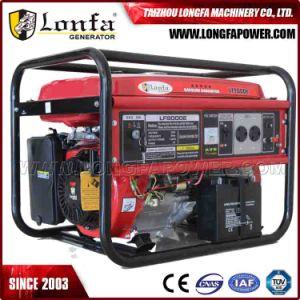 16HP評価される6500W最大7000Wガソリン発電機(セットされるガソリンGeneraor)