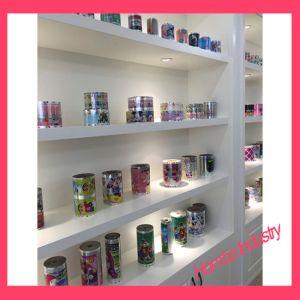 En el molde Etiqueta para Cups/cajas de cosméticos