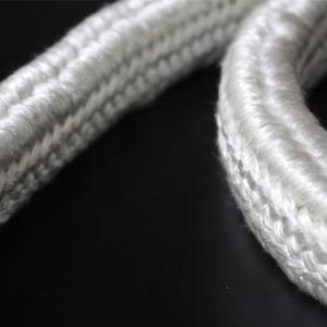 Resistente a altas temperaturas Insualtion calor corda entrançada de fibra de vidro Retangular