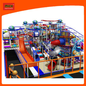 Campo da giuoco dell'interno di plastica dei grandi dei giocattoli dei bambini del campo da giuoco di divertimento della strumentazione capretti dei prodotti