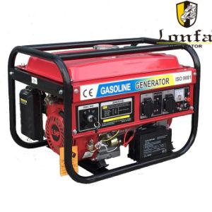 5.5HP 6.5HP gerador de Querosene Gasolina Portátil