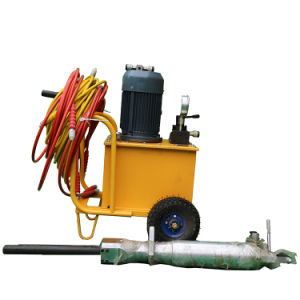 Equipamentos de Mineração Diesel Eléctrico Rocha Hidráulica Splitter /dividindo a máquina