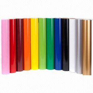 Виниловая пленка ПВХ цвет Self-Adhesive пользуйтесь функцией Настройки Глянцевая для письма режущий наклейки