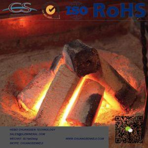 La sciure de bois à tête hexagonale de briquettes de charbon de bois Charbon de bois pour BBQ