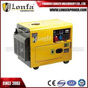 generatore diesel di potere chiave insonorizzato silenzioso di inizio 5000With5kw/5kVA per la Sudafrica