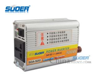 Invertitore di potere di alta frequenza 24V 500W di Suoer (SDA-500B)