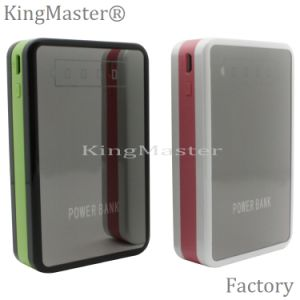Cargador de batería portable rápido de la batería 8400mAh de la potencia de carga con el cable