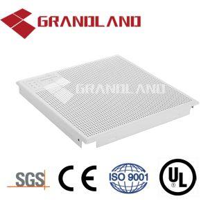El Clip en el centro comercial de aluminio Panel acústico falso techo de material de construcción