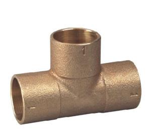 Libre de plomo o bronce Tee/Adaptador de tubería (P32001)