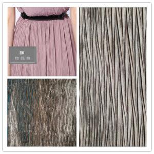 Satin Crepe Stoff, Polyester und Gewebe für Kleidungsstück