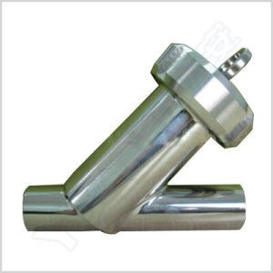 Setaccio sanitario della conduttura di angolo dell'acciaio inossidabile