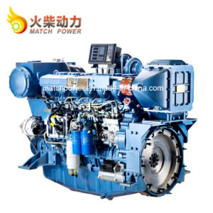 De lage Dieselmotor van de Boot van de Motor van Weichai 350HP van de Consumptie van de Brandstof Mariene Wp12