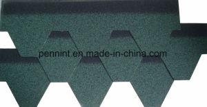 Hölzernes geneigtes Dach-imprägniernasphalt-Schindeln vom China-Fabrik-Zubehör