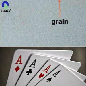D'impression personnalisé pleine couleur CMJN Feuille de cartes à jouer en PVC