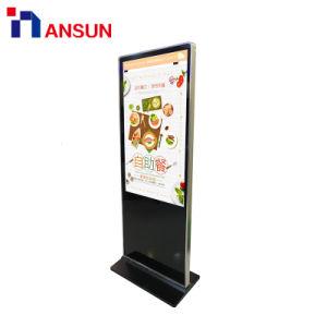 Напольная подставка WiFi вывески ЖК-дисплей для отображения Digital Signage в коммерческих целях