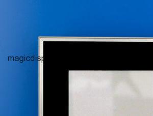 LEDの額縁のためのアルミニウムバックライトを当てられたライトボックスの印