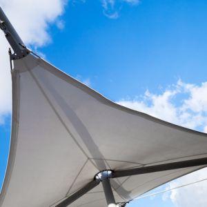 Hamaca de alta resistencia al aire libre de grosor de 26.5 onzas de suministro de lona recubierto de PVC