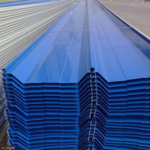 지붕 위원회는 직류 전기를 통한 철 장에 의하여 착색된 강철 플레이트를 Prepainted