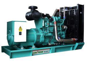 인도 625kVA Cummins Engine Kta19-G8를 가진 디젤 엔진 발전기 세트