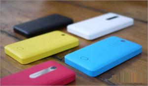 Desbloqueado para Nokia Asha 210 Teléfono celular con teclado QWERTY