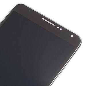 Pantalla LCD táctil de OEM para Samsung Galaxy Note3 Pantalla LCD de color gris con el bastidor