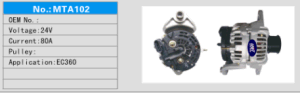 Alternator voor Volvo 360/Volvo 460