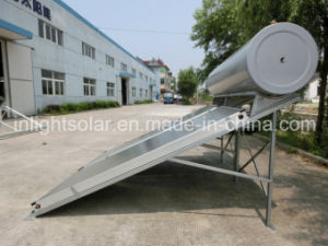 300L加圧ソーラーパネル温水器