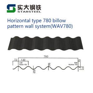 Strato preverniciato del tetto del ferro galvanizzato materiale d'acciaio/lamiera di acciaio