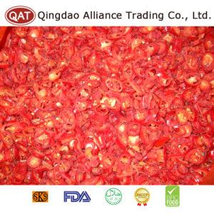 2017 Nueva Cosecha De Los Anillos de chile rojo congelado