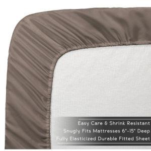 Colección Prestige 1800 ropa de cama de microfibra Bedsheet pulido