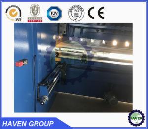 WC67K CNC freno hidráulico de presión / CNC máquina de doblado en stock