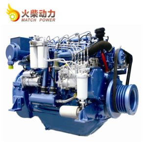 6개의 실린더를 가진 Reliablity 최고 Weichai Deutz 220HP 디젤 엔진 바다 엔진