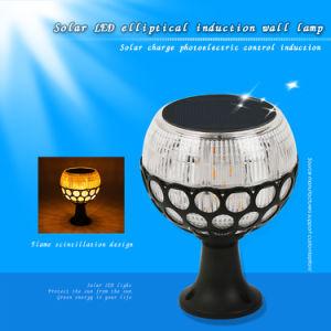 Novo Design IP65 LED Produto Exterior Jardim Solar Luz de Rua