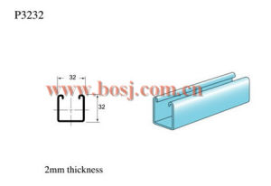 Roulis solaire de bride de système à panneau plat de système de support de toit de tuile formant faisant la machine Jordanie