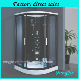 La trempe porte coulissante en verre salle de douche à vapeur (920)
