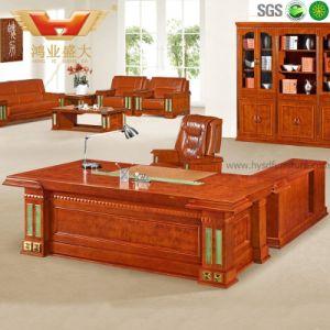 Lujo Clásico Director Ejecutivo de la madera de la Oficina de Recepción (HY-D5824)