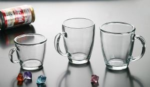 차잔 식용수 유리 컵