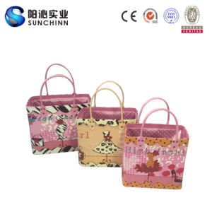 2016 unità di elaborazione calda Leather Handbag di Sell Three Colors Set 3 per Lady