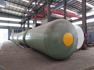 40000L стекловолоконные двойные стенки подземный резервуар для хранения бензинового или дизельного двигателя